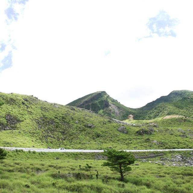 えびの高原の風景