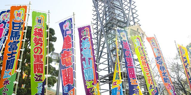 大相撲武蔵川部屋えびの合宿
